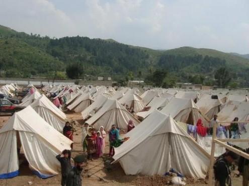 FATA child in IDPs camp