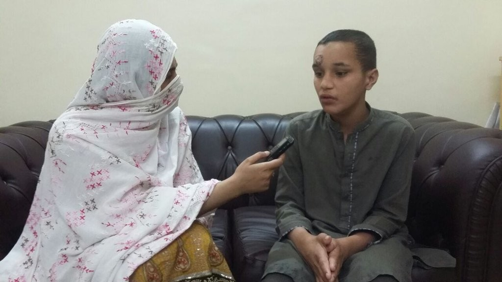 Jawad Afghan is under treatment for addiction at Welfare Organisation in Peshawar.