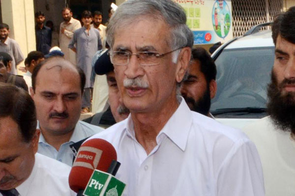 Khattak says he was consulted by Imran on new CM