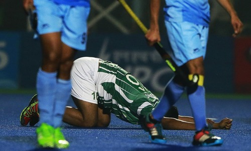 Pakistan draws third consecutive match in Hockey at