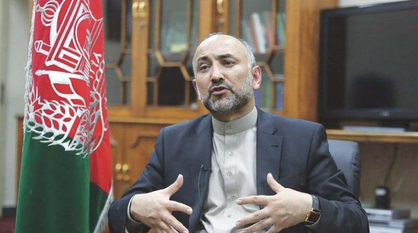 Hanif Atmar arrives on Islamabad visit today