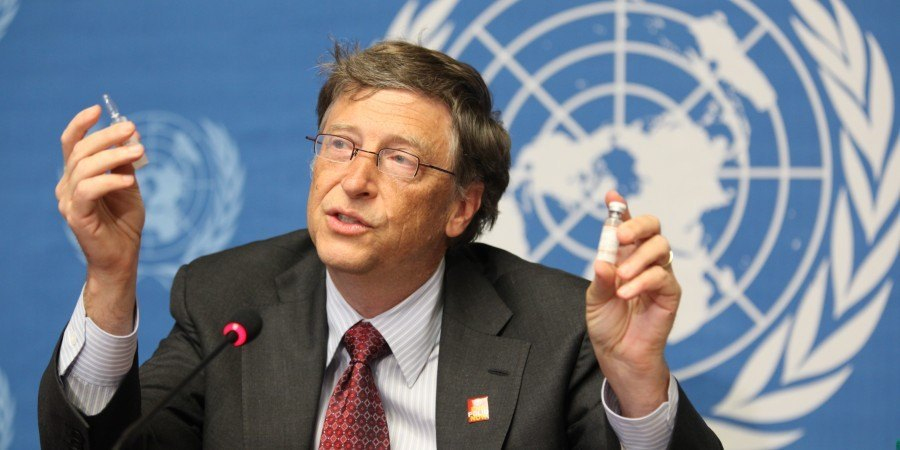 Bill Gates.commends Army's anti-polio efforts.