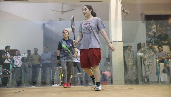 Noreena Shams, a tennis start from Lower Dir