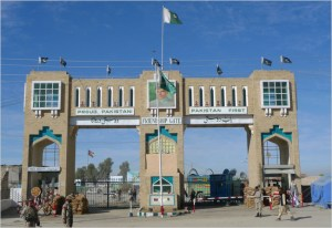 Chaman Gate that facilitate social and economic contacts between people of Pakistan and Afghanistan