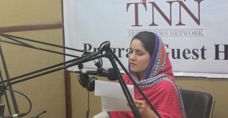 TNN reporter records to be aired from 10 FM stations in KP and FATA