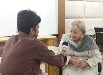 Dr. Sharman stone lunched a project of 06 million (AUD) for Afghan refugees women in Pakistan's tribal districts