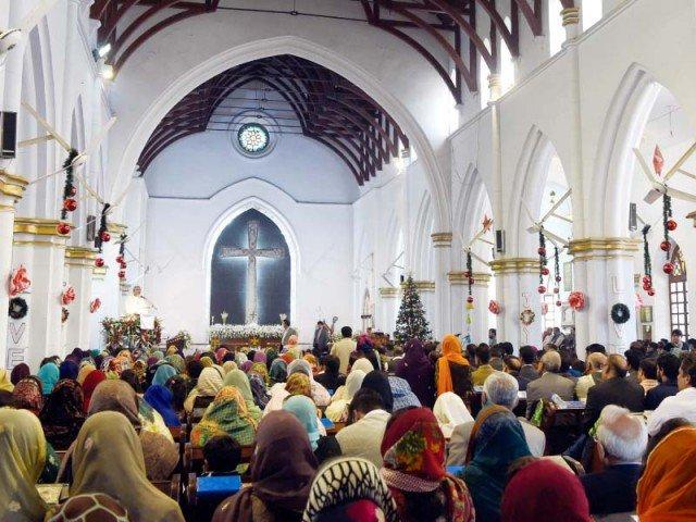 Prayers in Peshawar Church is being held.