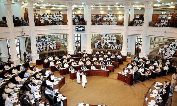 A view of the KP Assembly.
