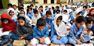 There are 15000 families living in Chowa Gujjar, but the village has no high school.