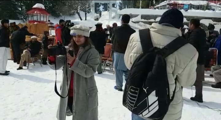 Image result for malam jabba snow festival