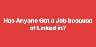 In Pakistan: Does LinkedIn helps in finding jobs?