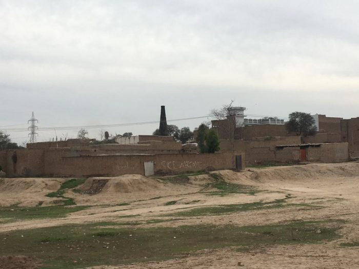 Most of brick kilns are situation in residential area in Peshawar.
