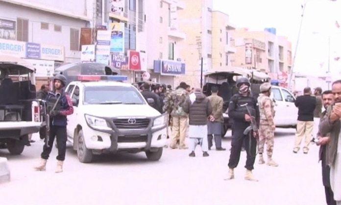 ASI Martyred in attack on police van in Charsadda