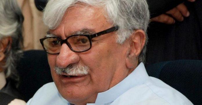 Asfandyar Wali Khan congratulates tribal people over the passage of 26 amendment