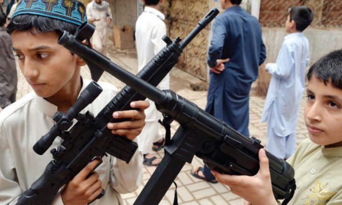 DC Mardan imposes ban on toy guns