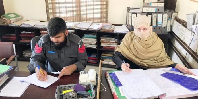 First woman police muharer appointed in Nowshera