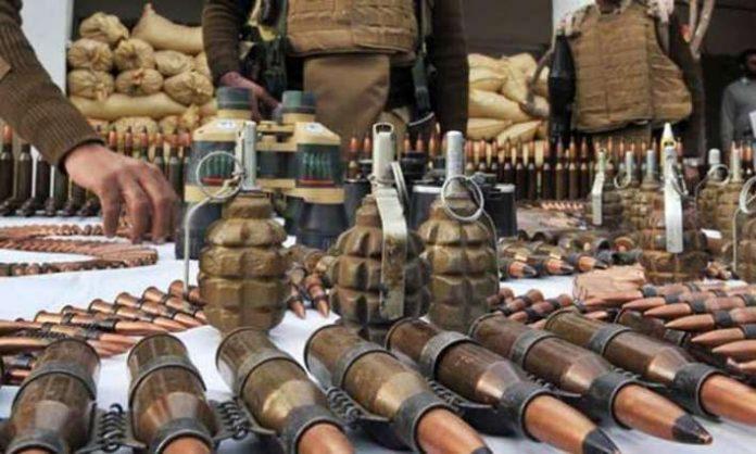 Forces Seize Cache Of Arms, Ammunition In Orakzai Distt