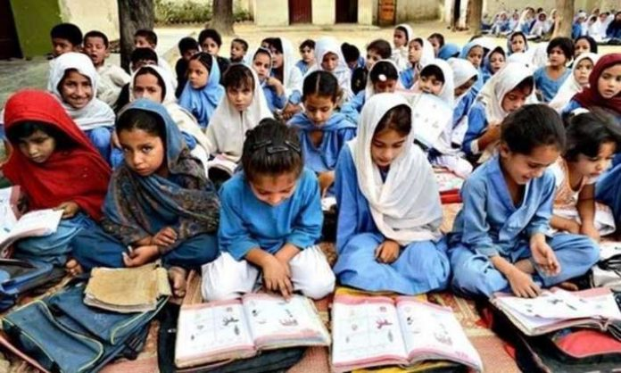 KP government inagurate 2nd shift classes in government schools