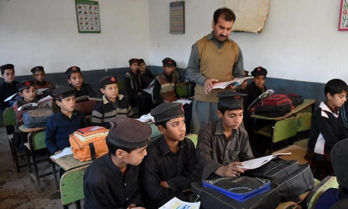 KP govt to recruit SSC pass teachers in tribal districts