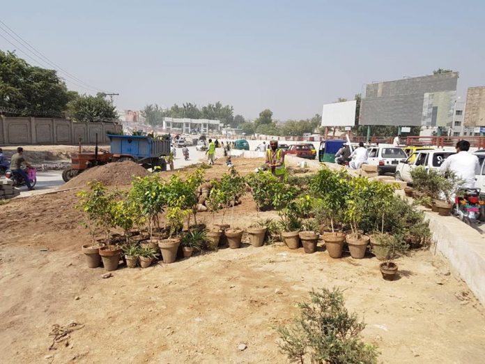 Peshawar's beautification