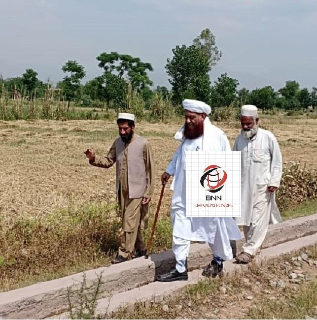 Pir Muhammad Syed Haidari visits his home village after 13 years