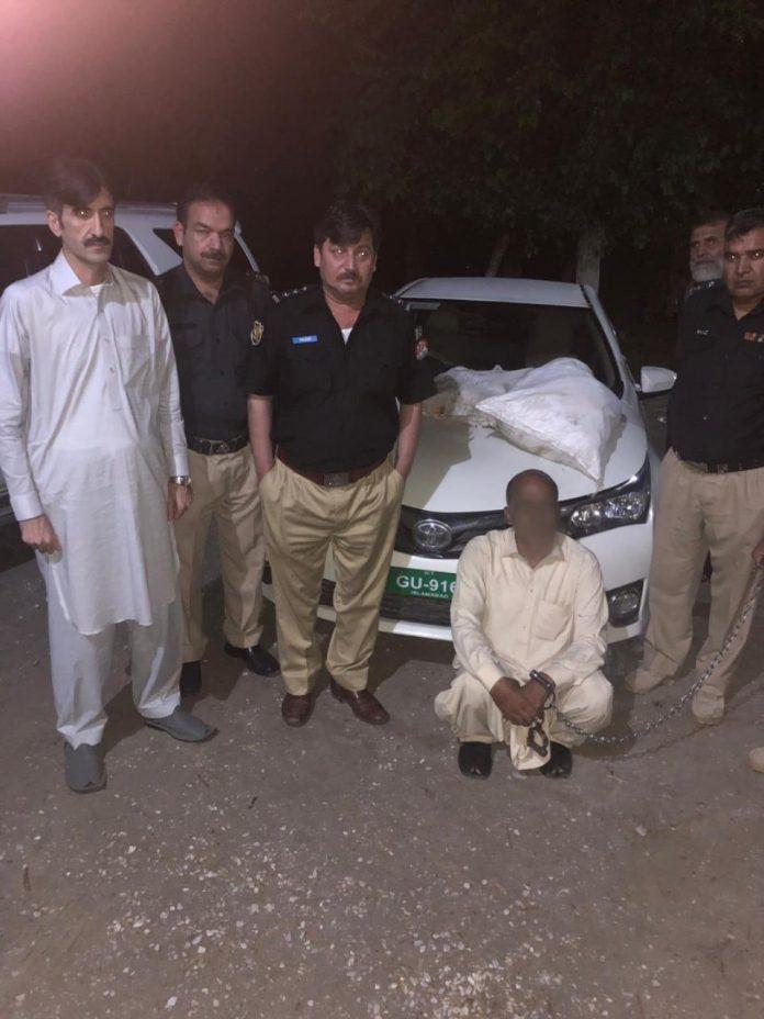 Police foil heroin smuggling bid