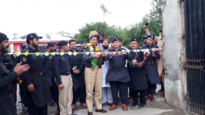 Wana First police station opens in Wana