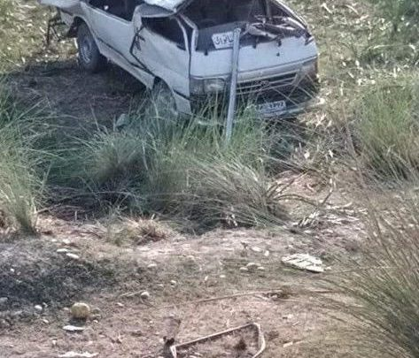 Bannu road accident