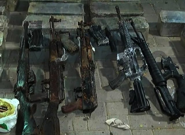 Excise department recovers illegal arms on GT road