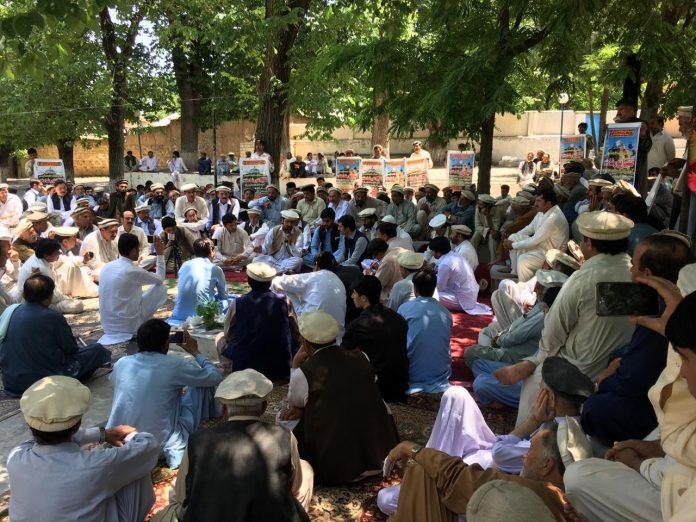 Kalaya jirga ask govt to lift ban on devotees entry to shrine in Kalaya