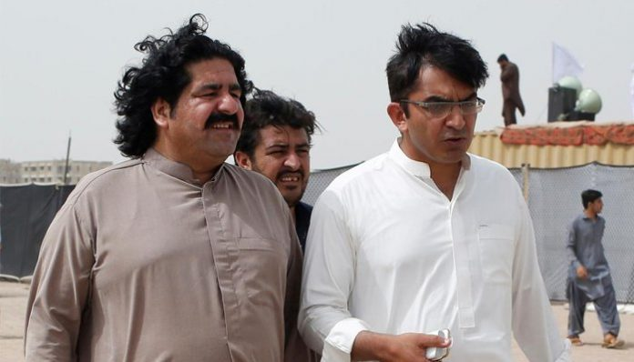 Court rejects plea to transfer Dawar, Wazir bail hearing