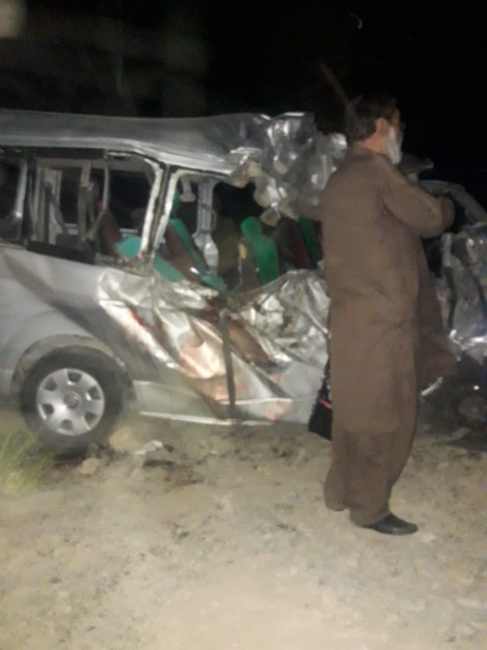 Qila Saifullah 13 killed in road accident