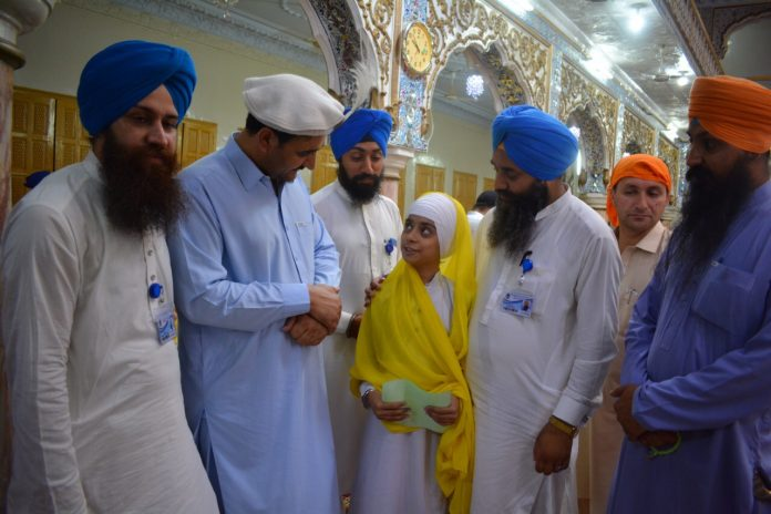 Wazir Zada assured the Sikh community members that the present government is serious in resolving the issues faced by the minorities in the province.