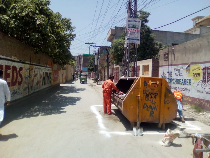 The Water and Sanitation Company Peshawar (WSSP) during its Eid operation has disposed of 2637 tons of waste generated in 43 out of 92 Union Councils of the provincial capital.