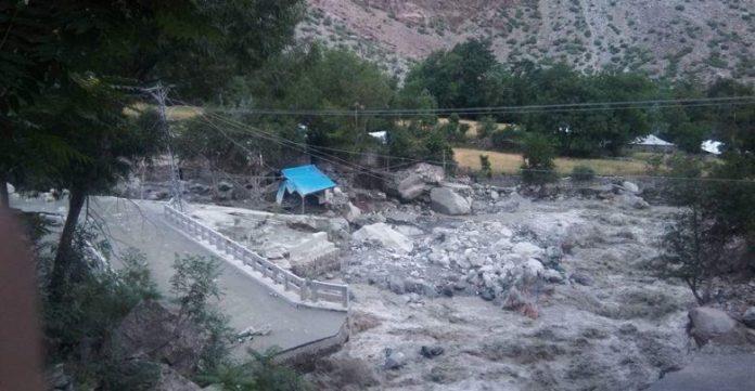 Flood hits villages after glacier burst in Chitral