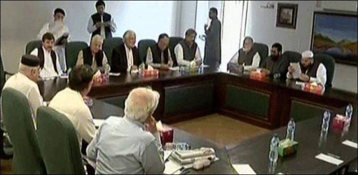 Opposition to submit resolution against chairman senate