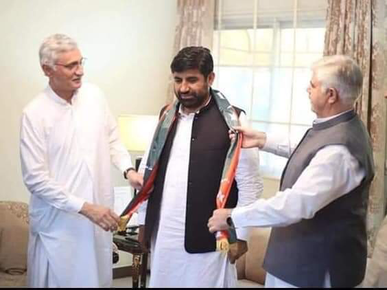 Independent MPA-elect from PK-107 joins PTI