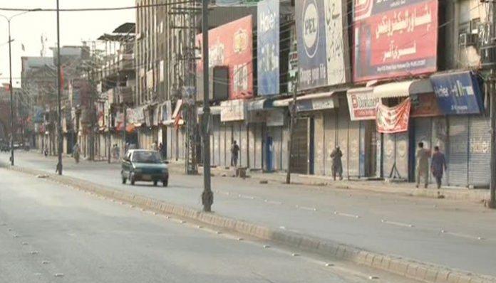 Traders in KP observe shutter-down strike