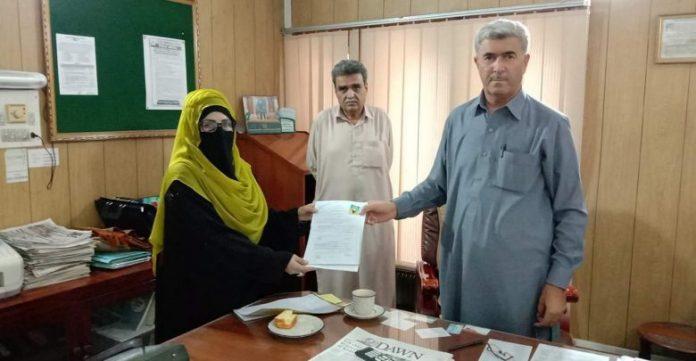 Maria Kamran, Bushra Mehsud submit papers for women reserved seat