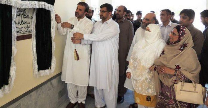 District Nazim inaugurates Darul Aman in Mardan