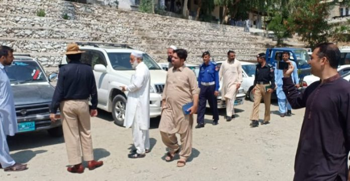 Police recover 38 stolen vehicles in Lower Dir