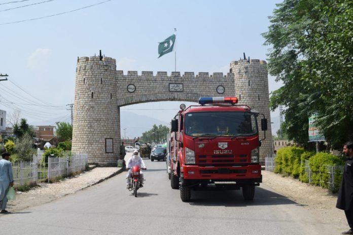 First Rescue 1122 station starts work in Jamrud