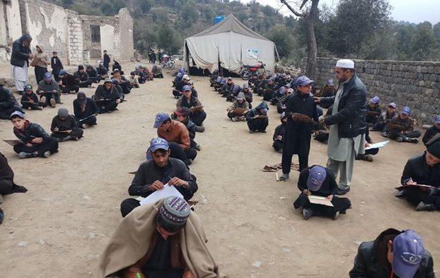 Damaged Building of Orakzai school awaits reconstruction