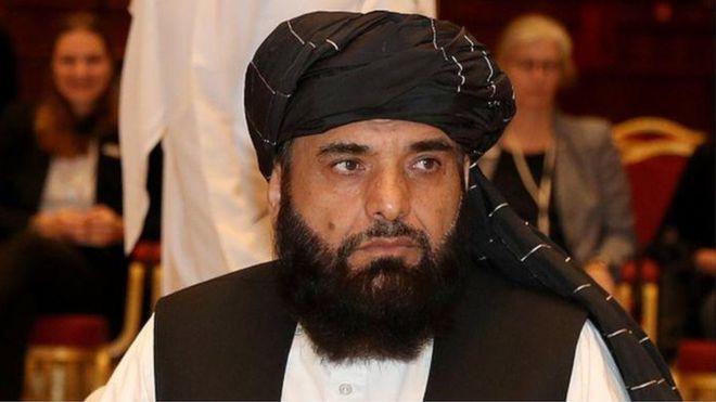 Afghan Taliban spokesman Zabiullah Mujahid