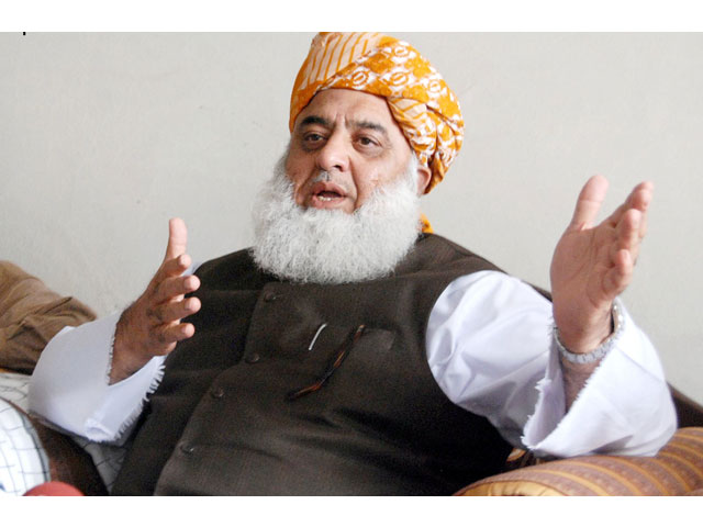 Maulana Fazal Rahman talks about PML-N participation in 'Azadi March'