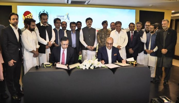 Jazz, USF sign MoU to extend high speed internet to S. Waziristan