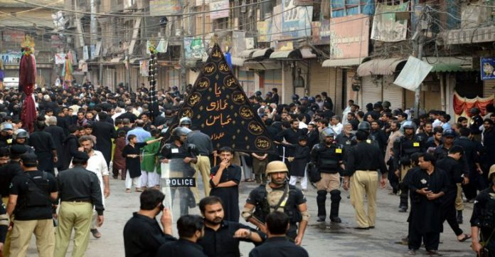 9th Muharram being observed in Pakistan today amid tight security