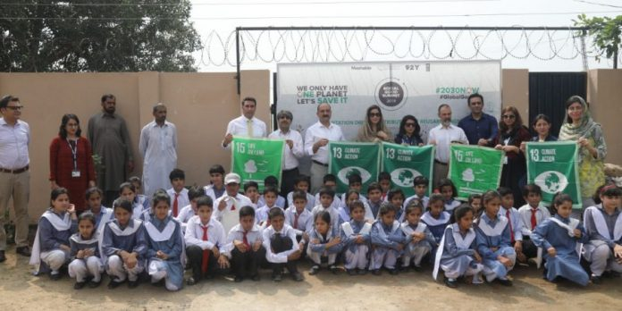 UNDP celebrates Social Good Summit with tree plantation drive