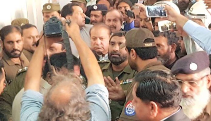 Nawaz Sharif remanded in NAB custody for another 14 days