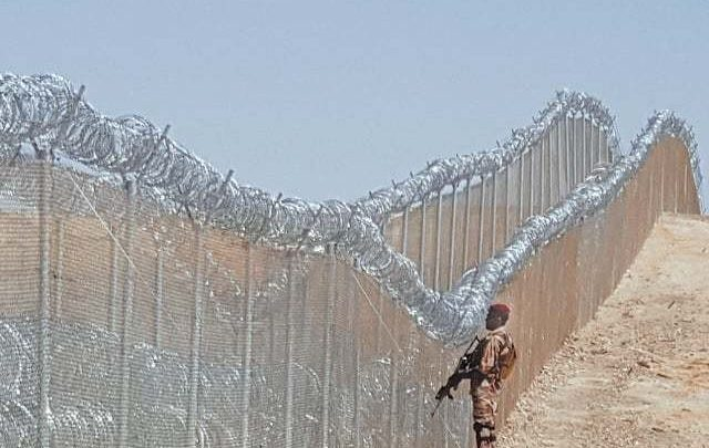'Fencing on Pak-Afghan border in KP almost complete'